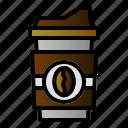cafe, cappuccino, coffee, espresso icon