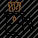 coffee, drink, drip, dripper icon
