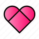 heart, love, married, wedding icon