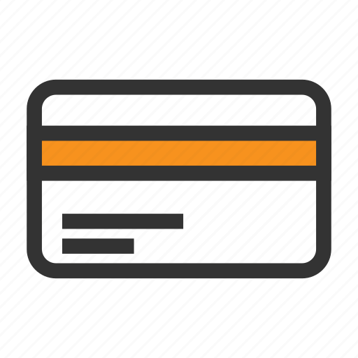 back, card, credit, money, pay, payment, side icon