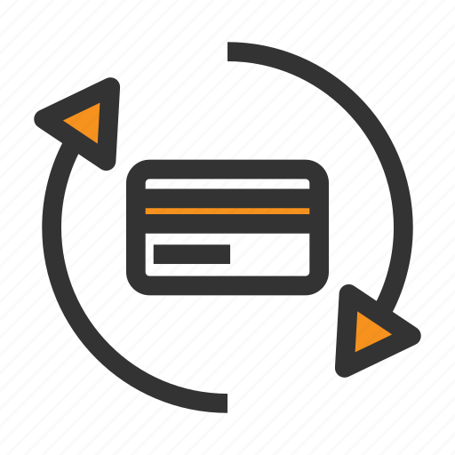 card, credit, money, pay, payment, refresh, update icon