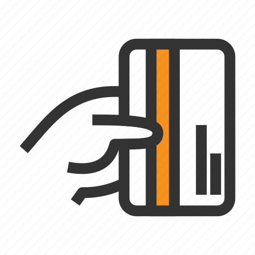 card, credit, hand, hold, money, pay, payment icon