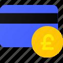 bank, card, credit, pound