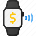 contactless, finance, payment, smartwatch, technology