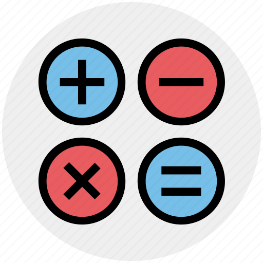 accounting, calculate, calculator, education, math icon