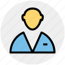 boss, employee, human, man, profile, user icon