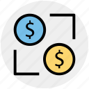 affiliate, affiliate marketing, business, dollar network, finance, investment affiliate, share icon
