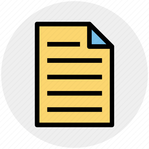 Doc, document, file, page, paper, sheet icon - Download on Iconfinder
