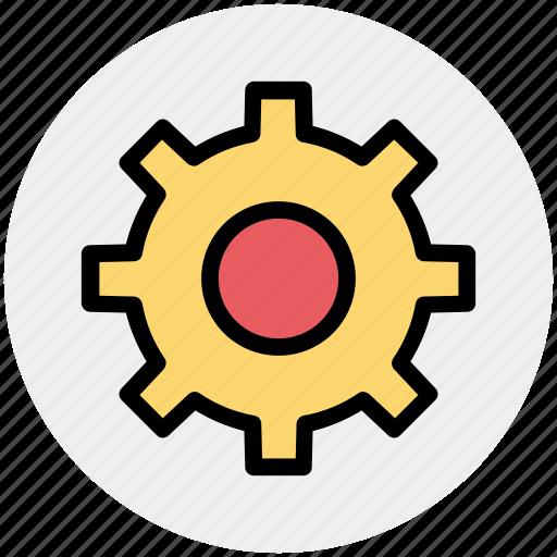 gear, gear business, gear circle, gear financial icon