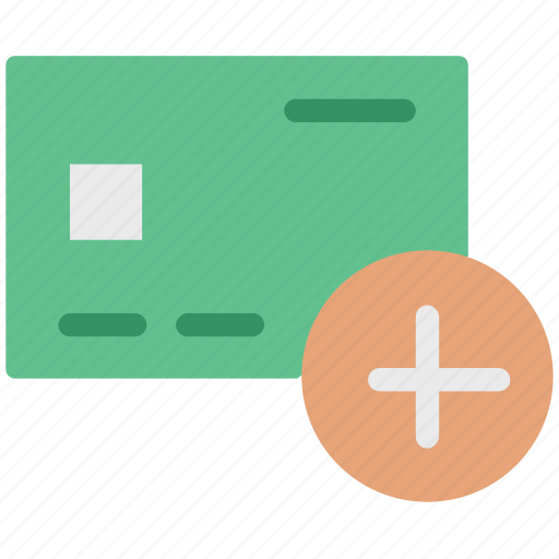 add card, add credit card, add debit card, add payment, card, credit icon