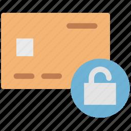 credit card security, lock card, lock credit card, lock debit card, lock gift card icon