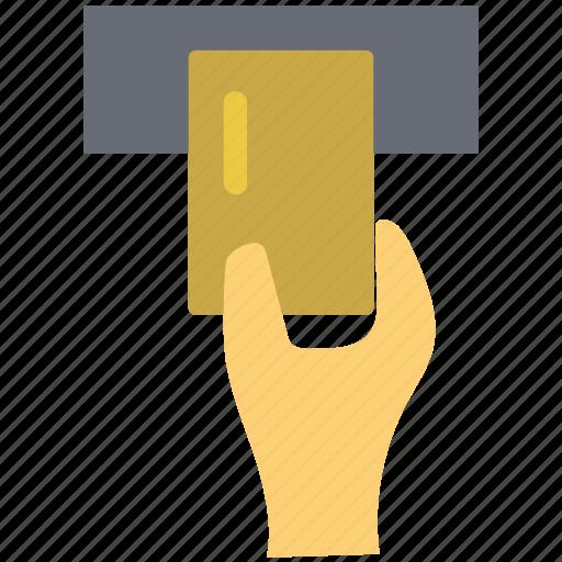 atm card, card insert, credit card insert, debit card insert, insert card icon