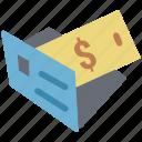 cash envelope, cash folder, dollar folder, folder, money envelope, payment enlop icon