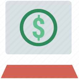 business, currency, dollar sign, earning, financial, investment icon