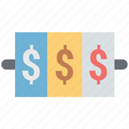 banking, business, dollar, dollar sign, earning, finance, investment icon