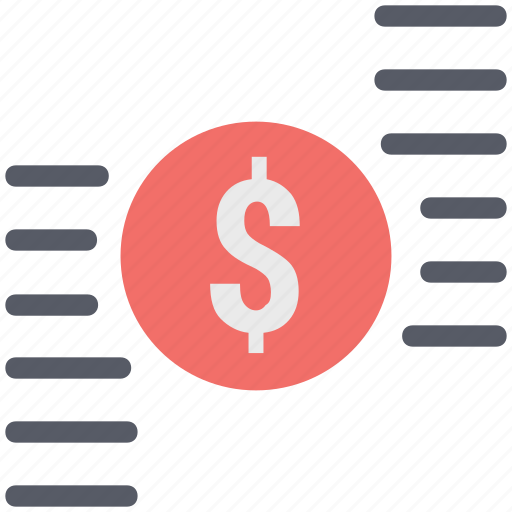 business, dollar sign, finance, investment, payment sign icon