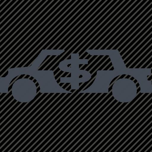 card, collector car, credit, money icon