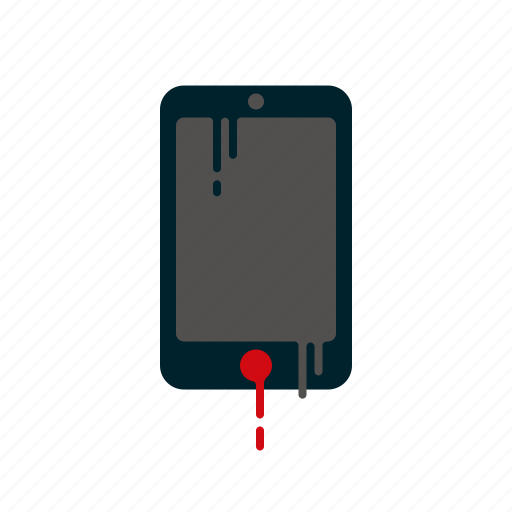 blood, dripping, liquid, melting, mobile phone, smart phone, telephone icon