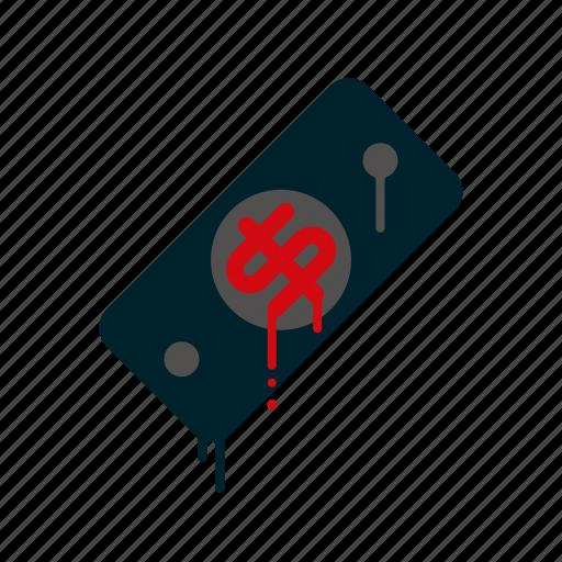 blood, dollar bill, dripping, finance, liquid, melting, money icon