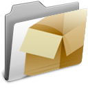 box, dropbox, folder icon