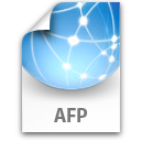 afp, file, internet, network icon