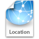 file, generic, location icon