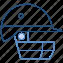 cricket, cricket helmet, helmet, keeper helmet, sports helmet icon