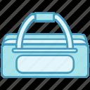 bag, cricket, cricket bag, player bag, sports bag icon