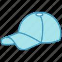 cap, cricket, cricket cap, sports cap, sportsman cap icon