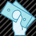 cash, cricket, money, perform money, prize icon