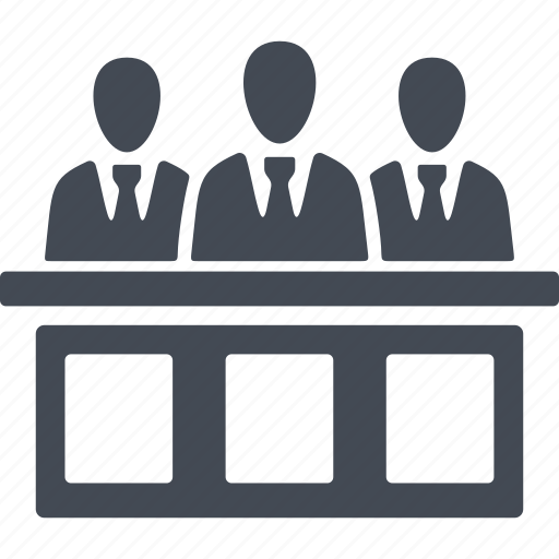 Crime, meeting, court, jury trial icon - Download on Iconfinder