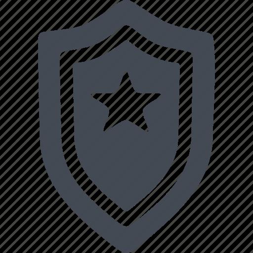 crime, distinctive sign, emblem, star icon