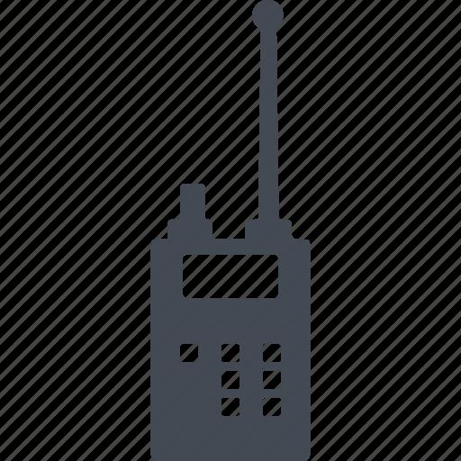 antenna, crime, police radio, radio, signal icon