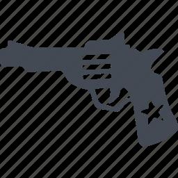 crime, criminal, pistol, revolver icon