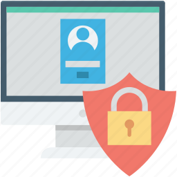 computer security, lock, login, padlock, website login icon