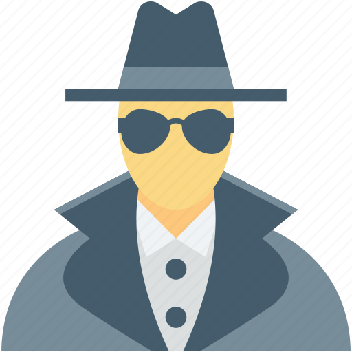 detective, incognito, investigator, spy, thief icon
