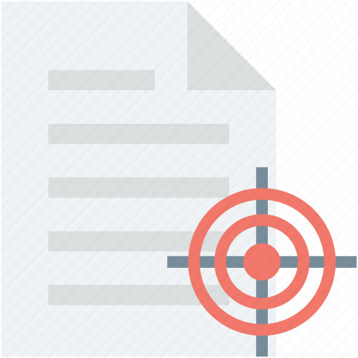 achievement, file, file target, marketing, target icon