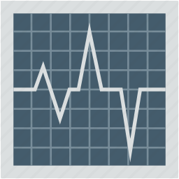 ecg, ecg monitor, heartbeat, infographic, line graph icon