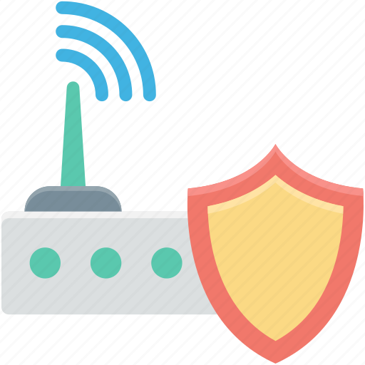 internet device, internet modem, internet router, internet security, shield icon