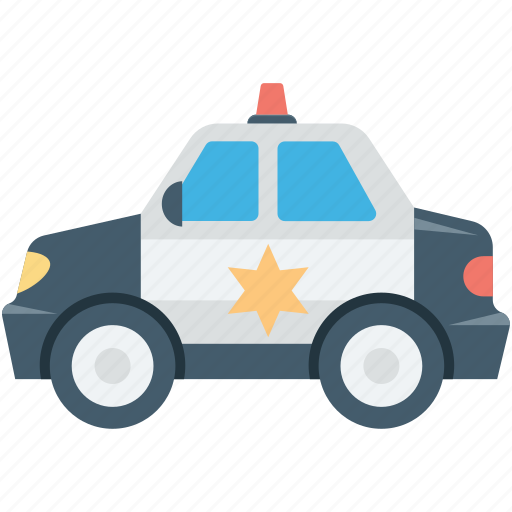 cop car, police car, police cruiser, police vehicle, transport icon