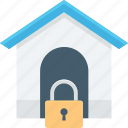 home protection, house security, protection, safe, security lock icon