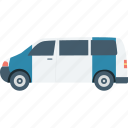 cop van, police car, police van, police vehicle, van icon
