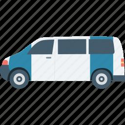 cop van, police car, police van, police vehicle, van icon