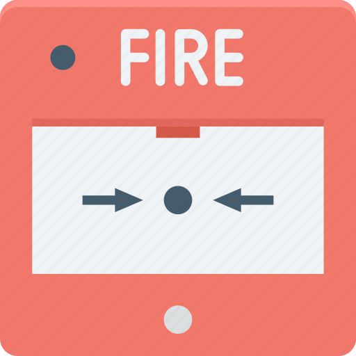 extinguisher security, fire, fire alarm, fire protection, fire safety icon