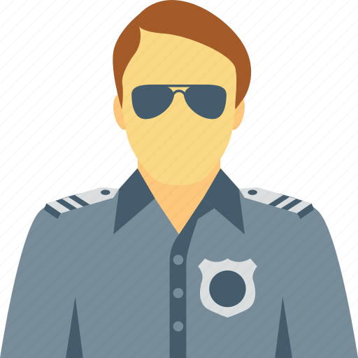 cop, police force, police officer, police worker, policeman icon