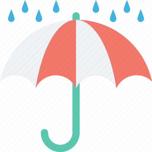 home insurance, insurance, parasol, rain protection, umbrella icon