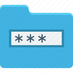 encryption, folder, folder password, privacy, secure files icon