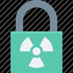 lock, padlock, security, security lock, toxic icon