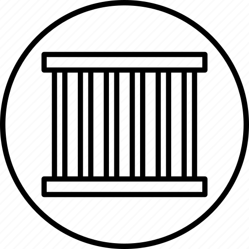 Block, cell, crime, criminal, jail, prison, prisoner icon - Download on Iconfinder