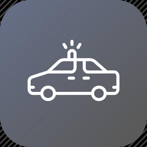cop, crime, police, safety, van, vehicle, wagon icon